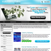 Clickbank-Niche-Storefront-Make Money Online