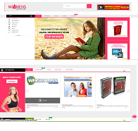 Clickbank-Niche-Storefront-Womens eBook Store