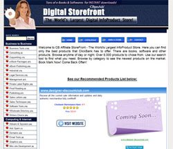 Clickbank Storefront version 1.0