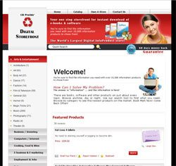 Clickbank Storefront version 2.0