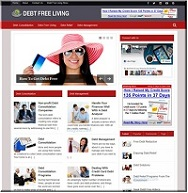 Clickbank-Wordpress-Plugin-Debt Free Living