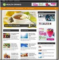 Clickbank-Wordpress-Plugin-Health Drinks