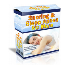 Snoring & Sleep Apnea No More - The Natural Way To Stop Snoring And Sleep Apnea 5