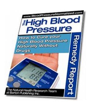 I Had High Blood Pressure