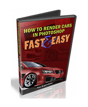 How To Render Cars In Photoshop