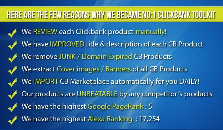 Clickbank Affiliate tools