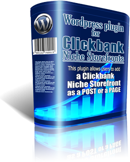 Clickbank WordPress Niche Storefront Plugin