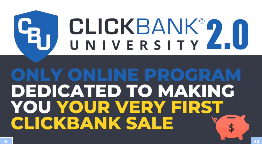 ClickBank University Header